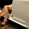 Messehostessen auf dem Genfer Auto Salon