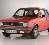 VW Golf 1 Cabriolet – Das Erdbeerkörbchen