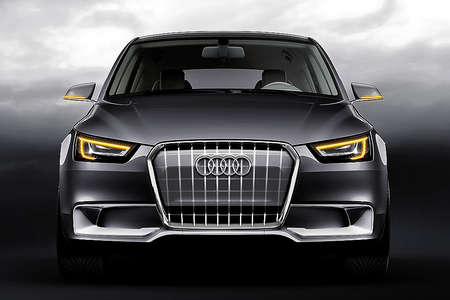Audi on Audi A1 Sportback     Concept Car Audi A1 Front     Caracho Tv