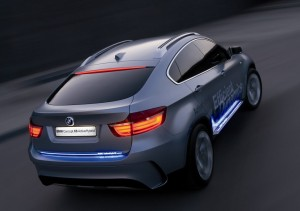 BMW X6 Hybrid mit LED Beleuchtung