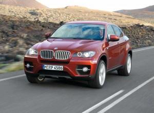 Frontpartie des BMW X6