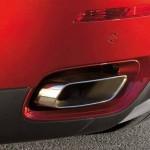Auspuffblende des BMW X6