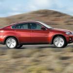 Seitenlinie des BMW X6