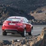 Kantig wie die Landschaft durch die er sich bewegt - der neue BMW X6