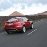 Wirkt durch seine Keilform dynamisch - der neue BMW X6