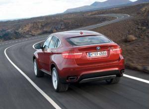 Das Heck des BMW X6