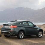 Heckansicht des BMW X6
