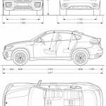 Maße des BMW X6