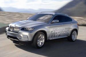 BMW X6 Hybrid Studie