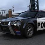 Der E7 von Carbon Motors ist die Zukunft des Polizeiautos