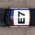 Dachkennzeichnung des Carbon Motors E7