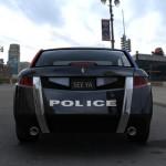 Carbon Motors E7 - Heckansicht