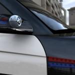 Suchscheinwerfer des Carbon Motors E7