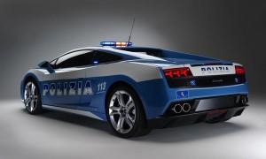 Schneller als die Polizei erlaubt: der Lamborghini LP560