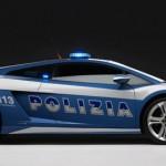 Die sportliche Seitenlinie des Lamborghini LP560
