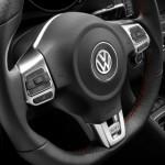 Lenkrad des VW Golf 6 GTI