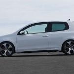 Seitenansicht des VW Golf 6 GTI