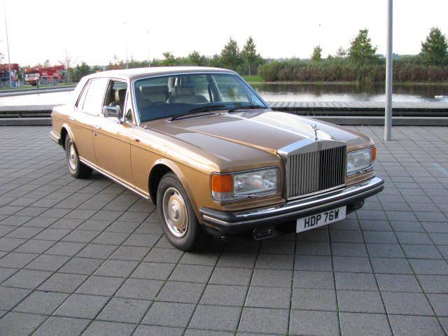 Rolls Royce Silver Spirit Mark 1 von 1981