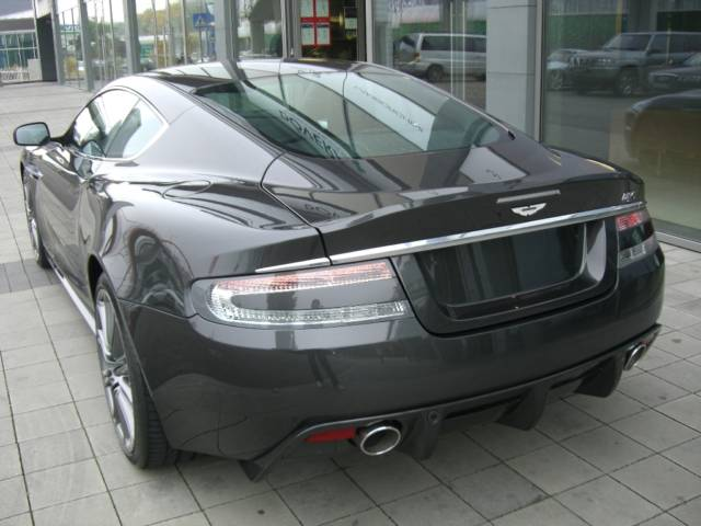 Aston Martin DBS Heck