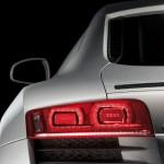 Heckgrafik des Audi R8