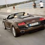 Audi R8 Spyder Heck
