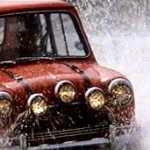 Roter Mini Cooper S aus dem Film