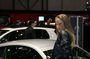 Auto Salon Genf Messehostess 09