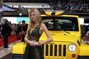 Auto Salon Genf Messehostess 10