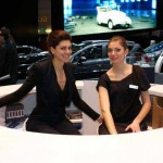 Auto Salon Genf Messehostess 11