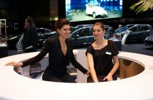 Auto Salon Genf Messehostess 11