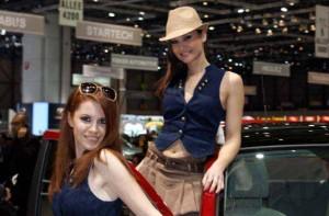 Auto Salon Genf Messehostess 12
