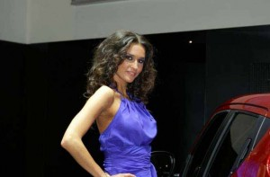 Auto Salon Genf Messehostess 14