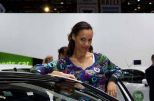 Auto Salon Genf Messehostess 15
