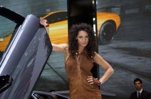 Auto Salon Genf Messehostess 19