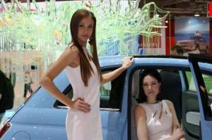 Auto Salon Genf Messehostess 20