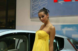 Auto Salon Genf Messehostess 21