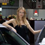 Auto Salon Genf Messehostess 23