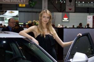 Auto Salon Genf Messehostess 23