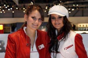 Auto Salon Genf Messehostess 29