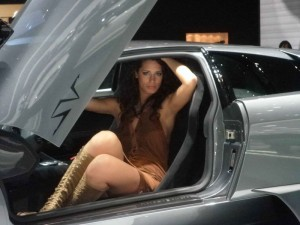 Auto Salon Genf Messehostess
