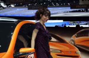 Auto Salon Genf Messehostess 31