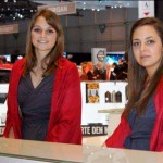 Auto Salon Genf Messehostess 32