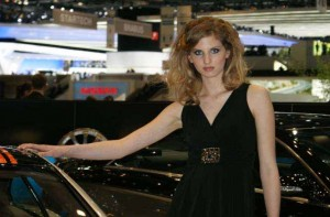 Auto Salon Genf Messehostess 33