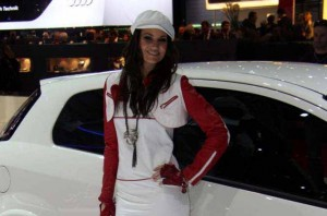 Auto Salon Genf Messehostess 34