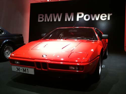 BMW M1 im BMW Museum München