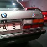 BMW M5 Heck