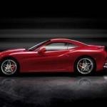 Ferrari California mit verschlossenem Verdeck