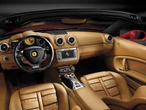Ferrari California Innenraum