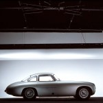 Mercedes-Benz 300 SL Coupe Gullwing W194 Seitenlinie