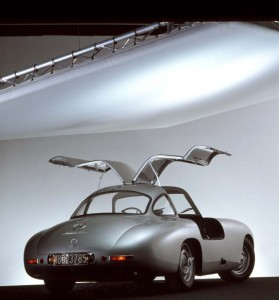 Mercedes-Benz 300 SL Coupe Gullwing W194 - Offen